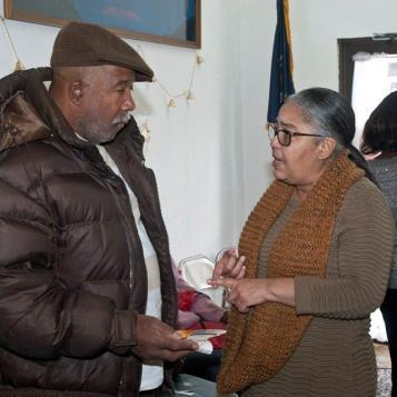 State Rep. Michelle Brownlee, D-Philadelphia, holds a Warming Up With Brownlee event at her constituents services office in December.