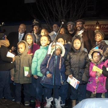 A good time was had by all at Rep. Parker's annual holiday lighting ceremony