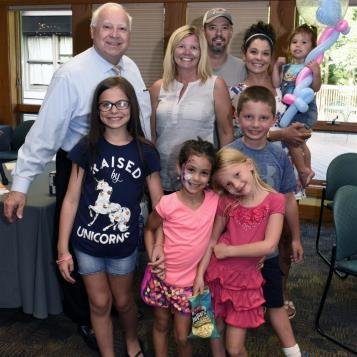 It was bittersweet for Rep. Pete Daley as he hosted his 8th, and final, Kidz Fair.  Rep. Daley is retiring this fall after 33 years in public service.