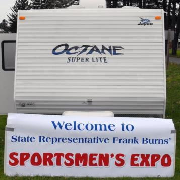 Rep. Burns held an Outdoors and Sportsmen's Expo in his district. To view photos from the event, visit his photo slideshow page and click on the Outdoors and Sportsmen's Expo gallery.