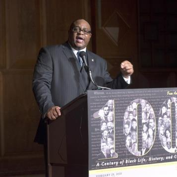 Our Photo of the Day features Rep. Ed Gainey celebrating Black History Month with the Pennsylvania Legislative Black Caucus.