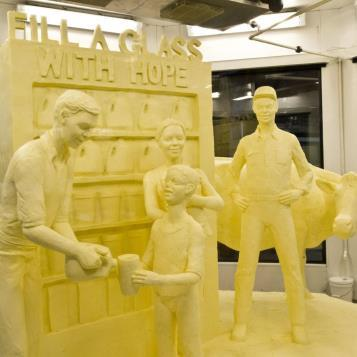 Our Photo of the Day is the unveiling of the annual Butter Sculpture at the Pennsylvania Farm Show!  The show itself kicks off this weekend and, as always, admission is free! Check out www.farmshow.state.pa.us for more information