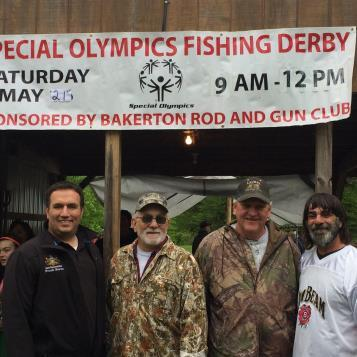 Rep. Burns attended the 2016 Special Olympics Fishing Derby sponsored by the Bakerton Rod and Gun Club.