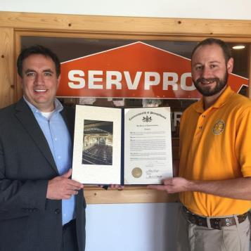 The Rotary Club of Ebensburg has made inestimable contributions to our community, so Rep. Burns was proud to present club president Jeff Kuncelman with a House citation acknowledging the group's 70th anniversary.