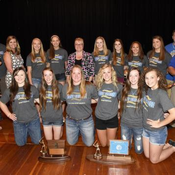 Rep. Pam Snyder hosted a ceremony to congratulate the West Greene High School Girls Softball team for winning the WPIAL Class A Championship, and finishing with the silver medal in the PIAA Class A Champion game.