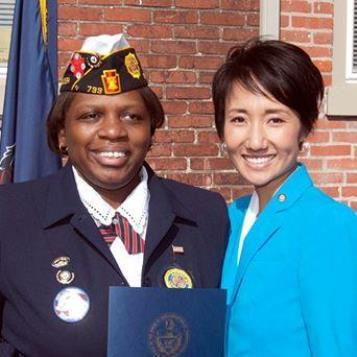 Ahead of Veterans Day tomorrow, our Photo of the Day keeps us here in Harrisburg, where Rep. Patty Kim recently hosted a veterans recognition ceremony to honor all those who've served our country. Thank you to our men and women in uniform -- past and present -- who have made great sacrifices so that we may all be free.