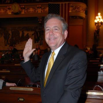 Rer. Freeman takes the oath of office at a ceremony at the state Capitol in Harrisburg on Jan. 4, 2011.